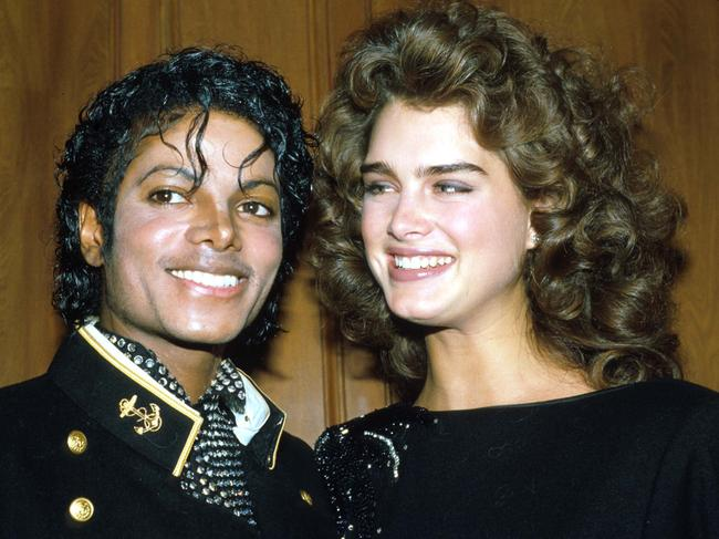 Michael Jackson and Brooke Shields. Picture: Yvonne Hemsey/Liaison/Getty Images