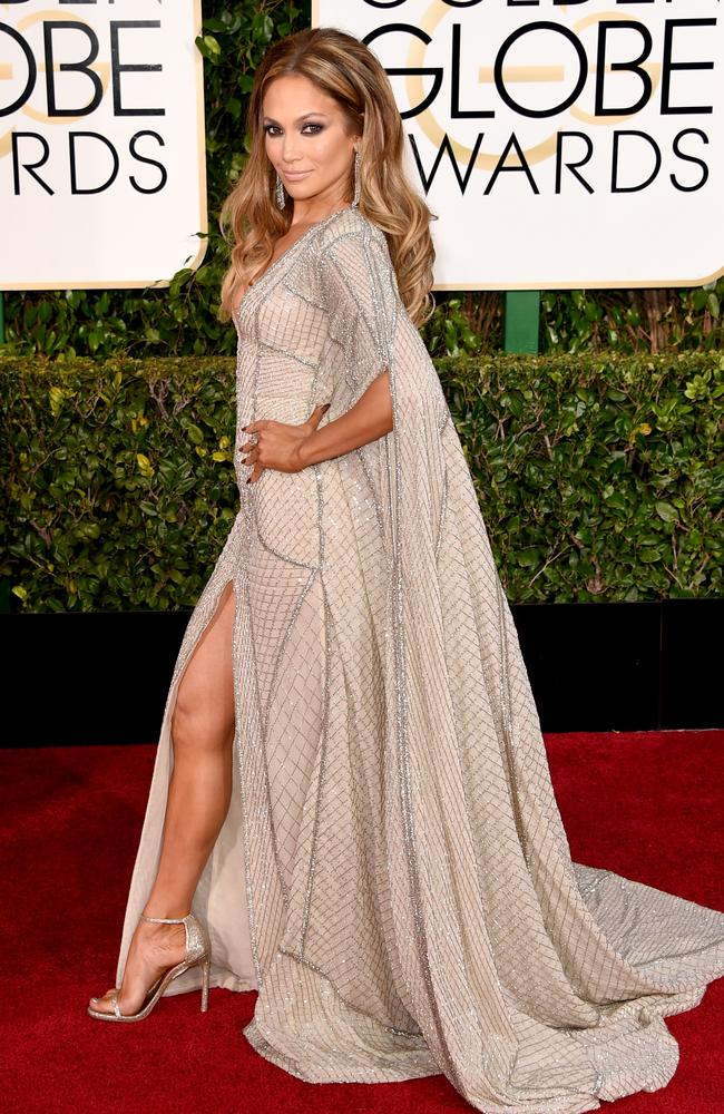 Jennifer Lopez presented at the 72nd Annual Golden Globe Awards at The Beverly Hilton Hotel on January 11, 2015 in Beverly Hills, California. (Photo by Jason Merritt/Getty Images)