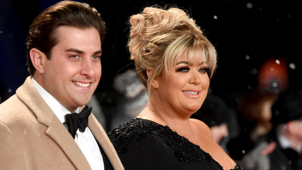 James Argent and Collins in January 2019. Picture: Stuart C. Wilson/Getty Images