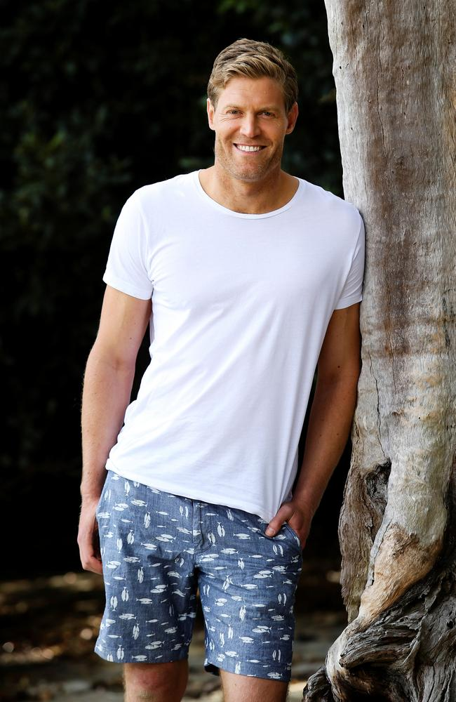 Bondi Vet Dr Chris Brown in Vaucluse, Sydney. Picture: Justin Lloyd