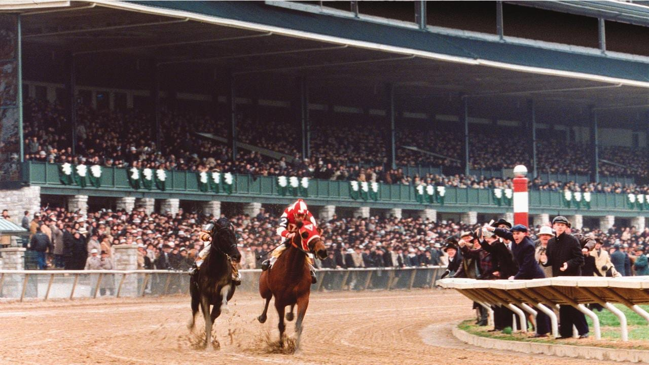 "Scene from film ""Seabiscuit""."