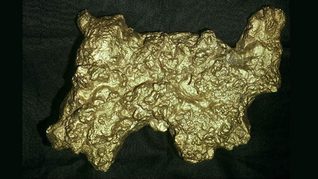 Some of Australia's biggest gold nuggets
