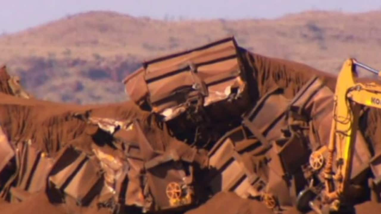 BHP running out of iron ore stockpiles after Pilbara train crash