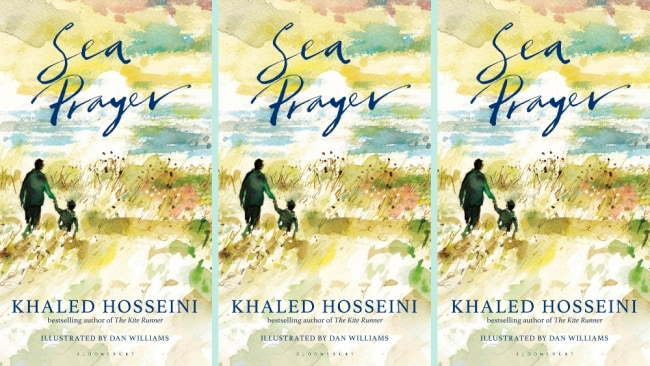 Sea Prayer by Khaled Hosseini is published by Bloomsbury, $24.99, out now. Image: Supplied