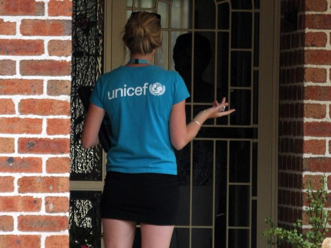 Charity workers are commonly seen in public places and doorknocking to sign up donors.
