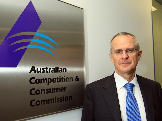 Australian Competition and Consumer Commission (ACCC) chairman Rod Sims