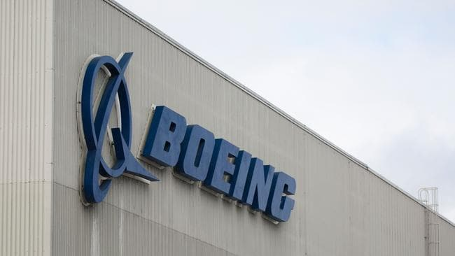 Boeing is the world's largest aircraft manufacturer. Picture: Jason Redmond / AFP