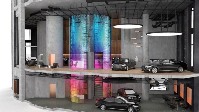 Genesis store Sydney design.