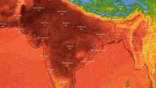 Horror 50C heatwave hits 200 million