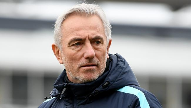 Socceroos coach Bert van Marwijk says he is keen to see how the new players in his squad will perform.