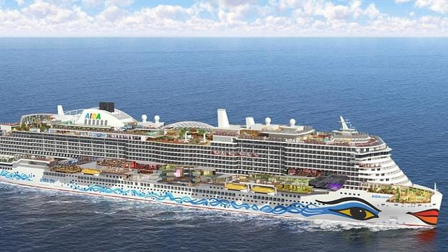 aidanova carnival s huge new 1b ship that can hold 6600 passengers