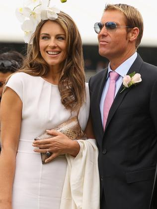 Elizabeth Hurley and Shane Warne are among the celebrities allegedly given free cars, although there is no suggestion of any wrongdoing on their part. Picture: Mark Dadswell/Getty Images/aslipics
