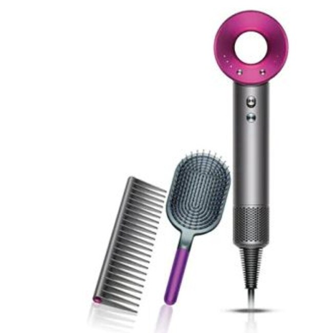 Dyson Supersonic hair dryer (pink) is down to $375, from $499.