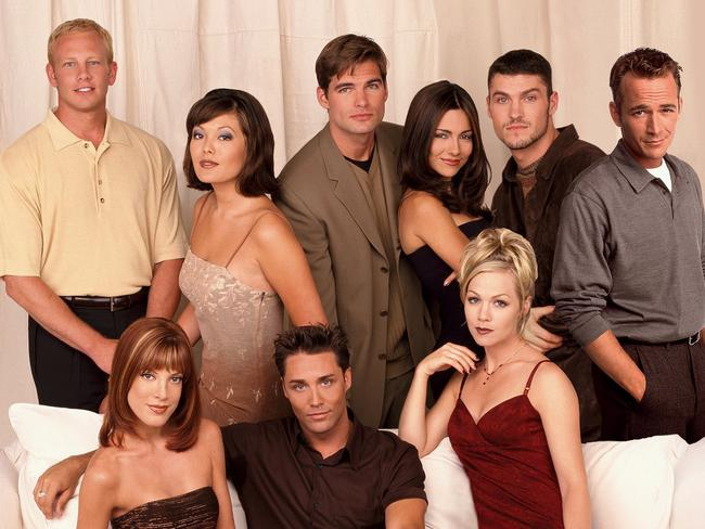 The cast of the 1999-2000 series of the show. Picture: Supplied