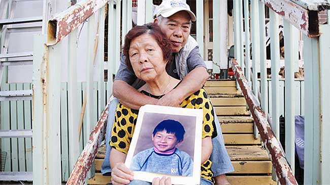 Andrew Chan's mum Helen and dad Ken. Picture: Adam Taylor