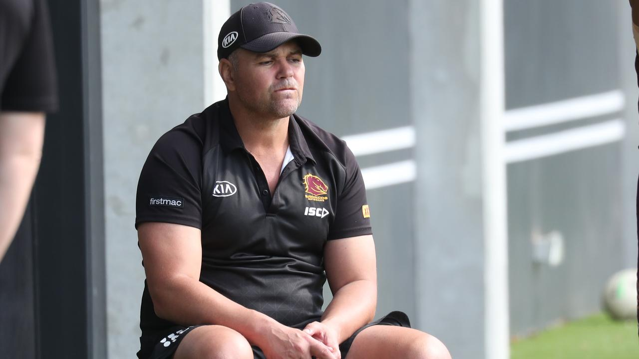 Anthony Seibold at Red Hill