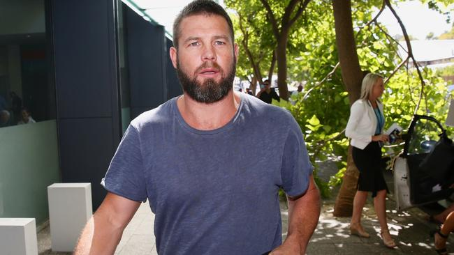 Ben Cousins has been released from prison.