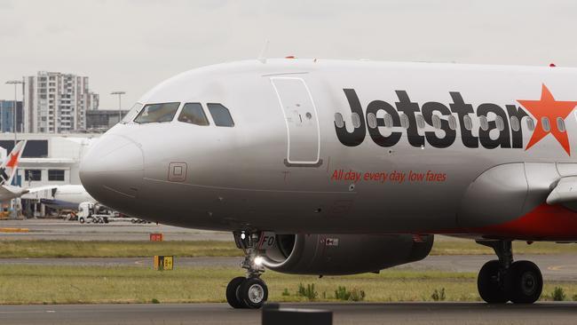 Jetstar passengers are a curious bunch. Picture: AAP/Daniel Munoz