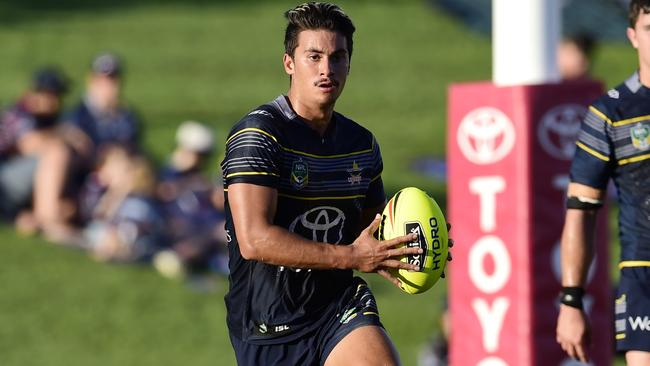 Enari Tuala graduated from the under-20s to the NRL last season at just 18 years of age. Photo: Wesley Monts