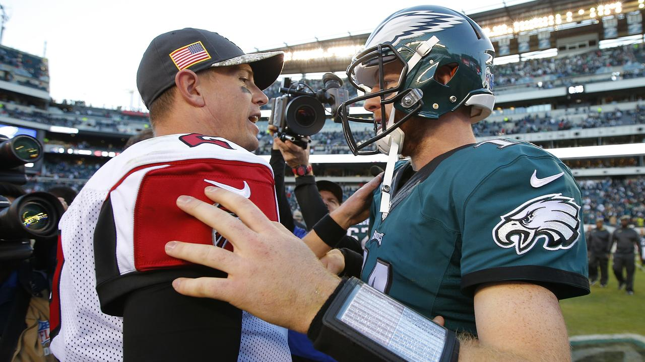 Matt Ryan and the up-and-coming Carson Wentz.