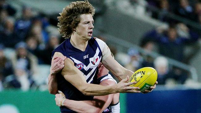 Nat Fyfe returns for Fremantle. Picture: Colleen Petch.