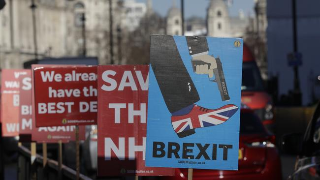 Britain's Brexit turmoil is believed to be behind a spike in Britons looking for property in Queensland. Photo: AP/Kirsty Wigglesworth.