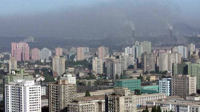 North Korean capital Pyongyang. The secretive regime says there have been no coronavirus cases in the country.