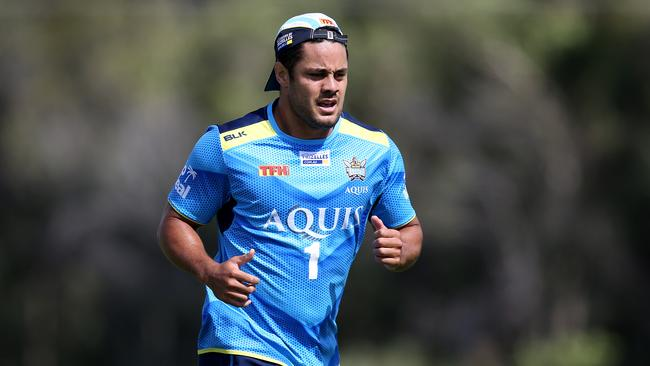 Hayne was asked to strip back the bulk. Picture: Jerad Williams