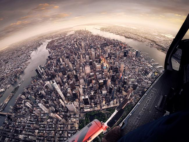 The view from the chopper. Picture: Andrew Griffiths/Lensaloft Photography