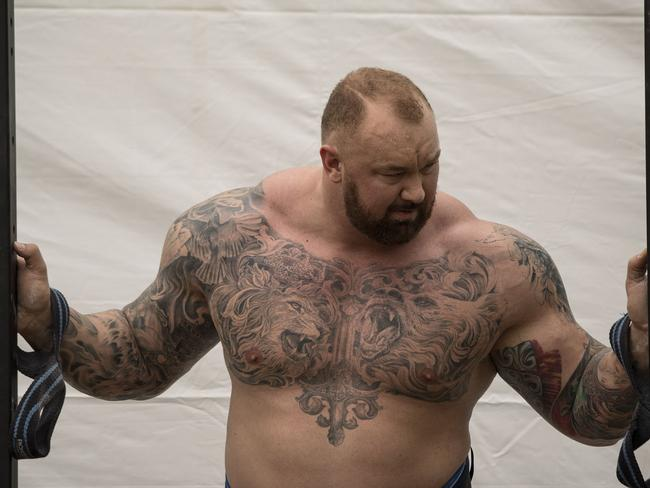 Hafthor Julius Bjornsson is a sight to behold.