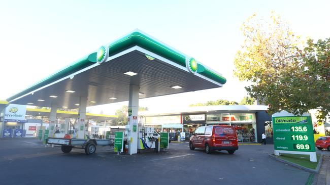 Velocity members can now use frequent flyer points to pay for petrol at BP. Picture: Tait Schmaal