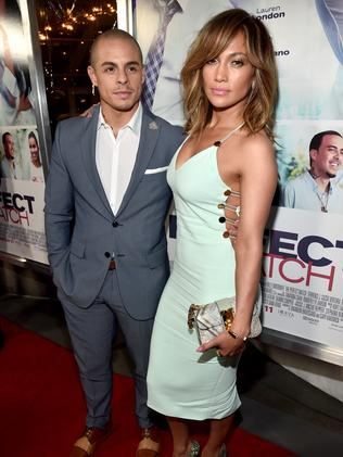 Jennifer Lopez and Casper Smart recently split after five years together. Picture: Alberto E. Rodriguez/Getty Images