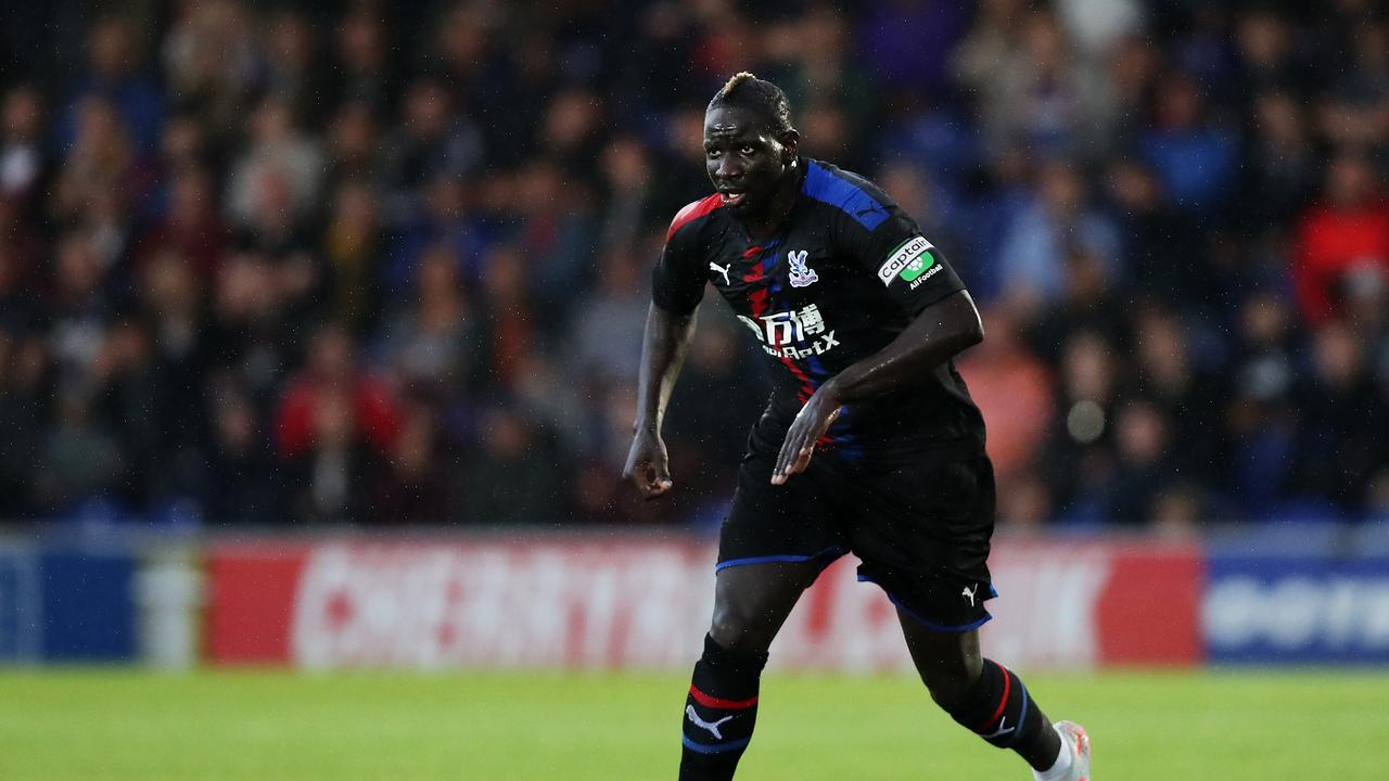 A proper captain: Crystal Palace defender Mamadou Sakho. (Photo by Jack Thomas/Getty Images)