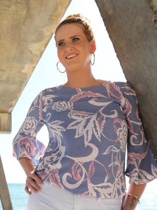 Leah Burgan, 32, of Flagstaff Hill, has severe endometriosis. Picture: Dean Martin