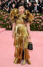 Awkwafina attends The 2019 Met Gala Celebrating Camp: Notes on Fashion at Metropolitan Museum of Art on May 06, 2019 in New York City. (Photo by Neilson Barnard/Getty Images)