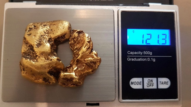 The UK's largest ever golden nugget