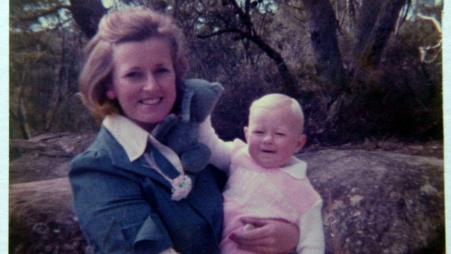 Lyn Dawson with her daughter at their Bayview home before her disappearance. Photo: Supplied