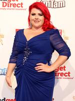Melissa Bergland on the red carpet at the 2015 Logie Awards at Crown Casino in Melbourne. Picture: Julie Kiriacoudis