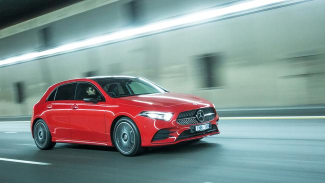 The Mercedes-Benz A250 represents an entry point for 'Benz ownership.