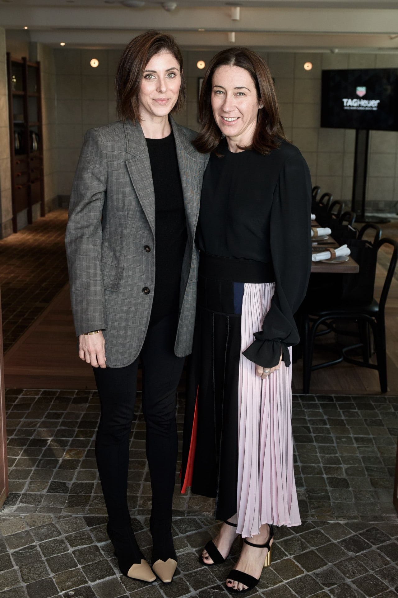 GQ Magazine editorMichael Christensen attends the TAG Heuer 2018 collection luncheon. Image credit: Supplied