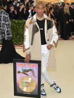 Jaden Smith attends the Heavenly Bodies: Fashion and The Catholic Imagination Costume Institute Gala at The Metropolitan Museum of Art on May 7, 2018 in New York City. Picture: Getty Images