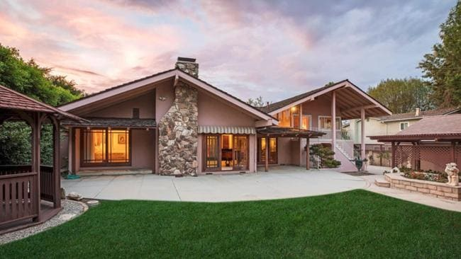 The original Brady Bunch went up for sale in July 2018. Picture: Trulia