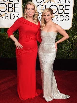 Strong contender ... Reese Witherspoon with Cheryl Strayed. Picture: AP