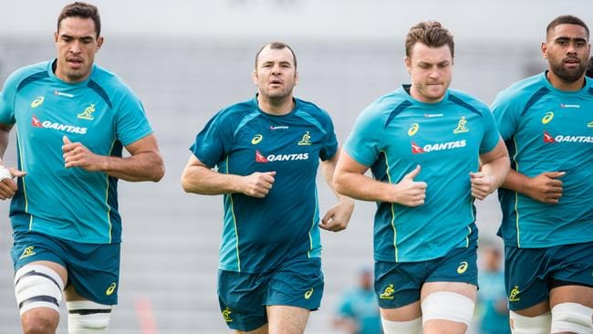 Rory Arnold, Jack Dempsey and Lukhan Tui are three young players to grow under Michael Cheika.