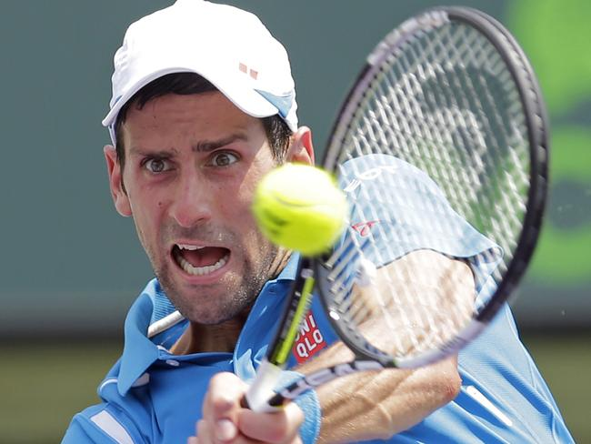 Novak Djokovic has been in magnificent form in Miami, as per usual.