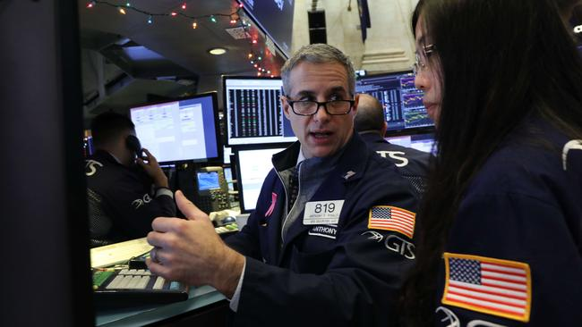 Investors are nervously looking for positive economic and political news to gain back some of the losses. Picture: Getty Images