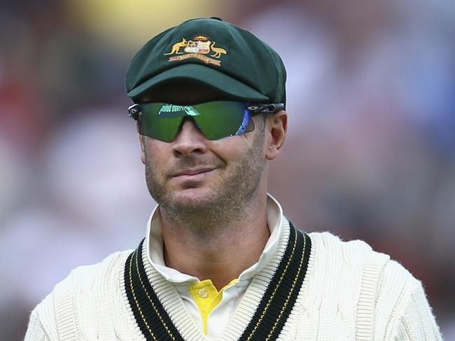 Michael Clarke said it was the toughest batting conditions he's experienced in his career.