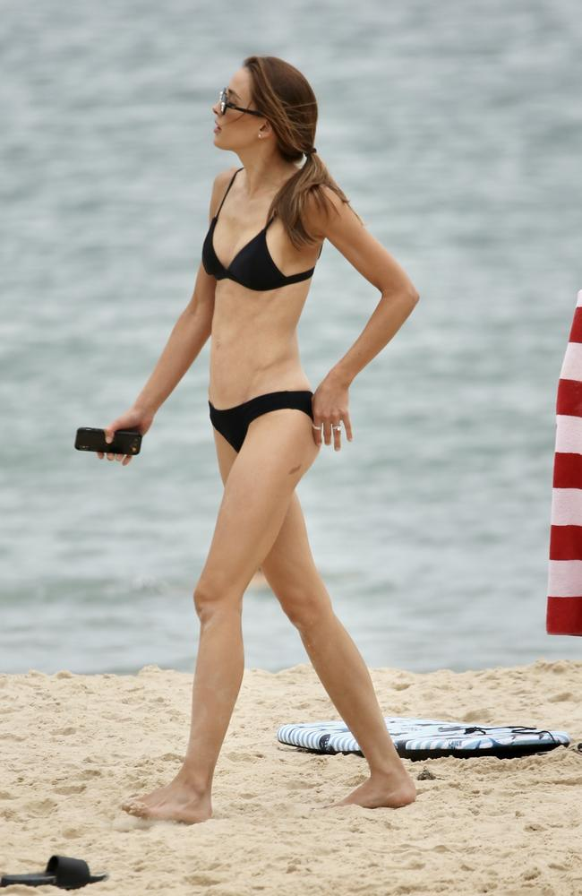 Bec Judd was spotted in Noosa on Tuesday. Picture: Backgrid