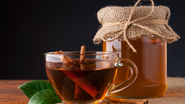 Sip on a cup of cinnamon tea before bed. Source: iStock