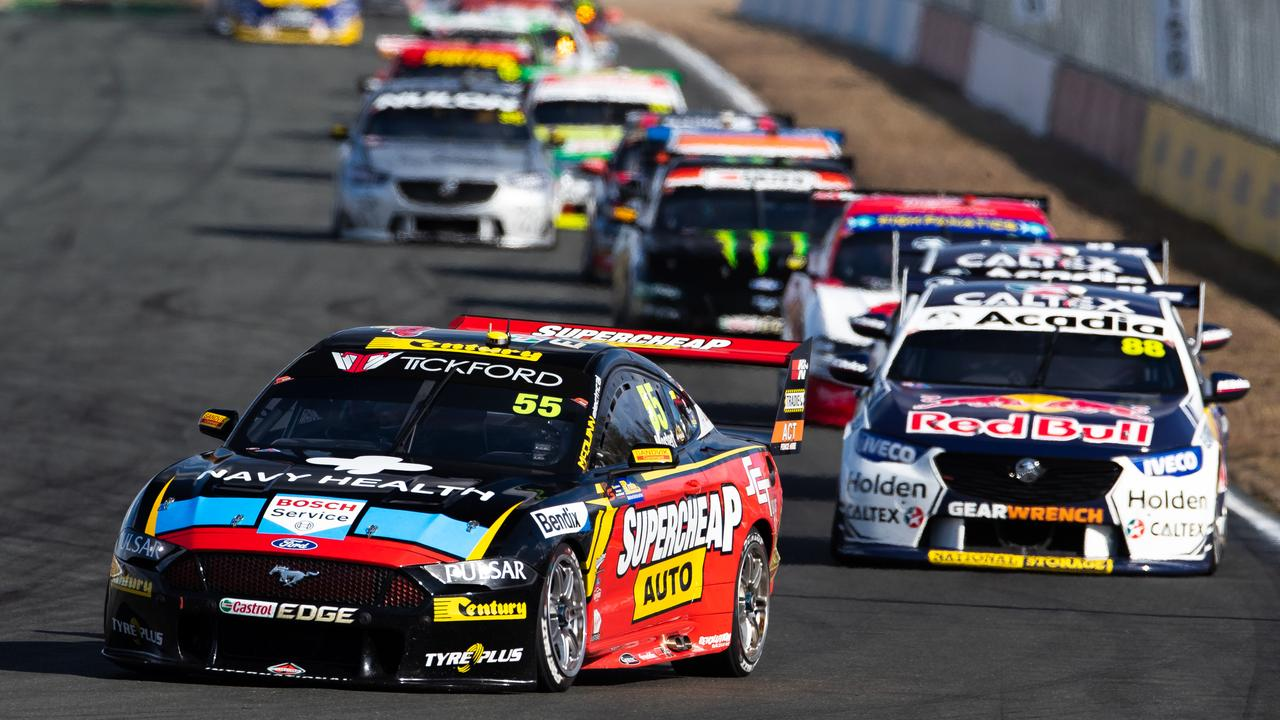 Chaz Mostert (#55) was strong in Ipswich, but where will he land next year?